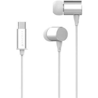 Tポイント15倍HACRAY USB Type-C Stereo Earphone シルバー請求書・領収書
