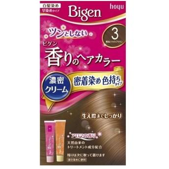 ビゲン 香りのへアカラー濃密クリーム 密着染め色持ちタイプ 3(明るいライトブラウン)