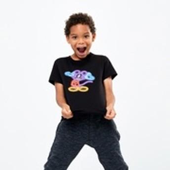 KIDS ミッキー アート UT バシャ・コルトシャ(グラフィックTシャツ・半袖)