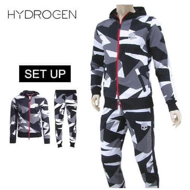 完売御礼/ハイドロゲン HYDROGEN メンズ セットアップ 240100 240102 カモフラグレー/B60/19ss