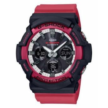 G-SHOCK ジーショック CASIO カシオ ブラック×レッド 腕時計 GAW-100RB-1AJF