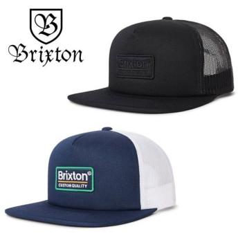 ブリクストン メッシュキャップ メンズ PALMER MESH CAP 帽子 BRIXTON キャップ 黒 ネイビー 紺 [0601]