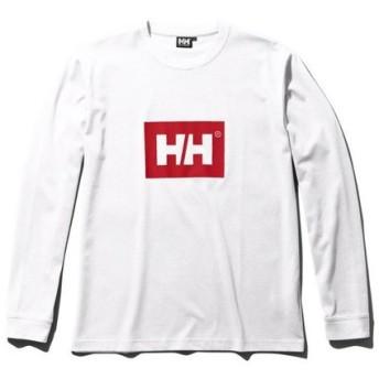 ヘリーハンセン(HELLY HANSEN) ロングスリーブソリッドロゴティー HE31960 WR (Men's)