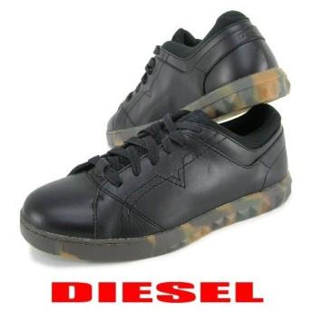 完売御礼/ディーゼル DIESEL メンズ スニーカー S STUDDZY LACE Y01451 PR215 ブラック/H4974/靴/シューズ/セール