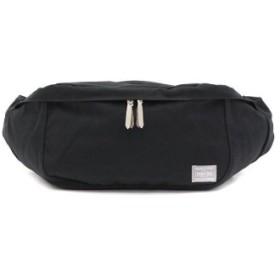 (GALLERIA/ギャレリア)吉田カバン ポーター ウエストバッグ PORTER BEAT ビート WAIST BAG(L) 727-09048/ユニセックス ブラック 送料無料