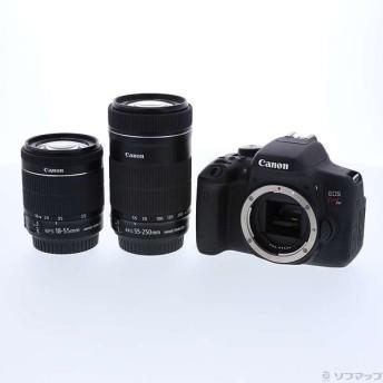 〔中古〕Canon(キヤノン) EOS Kiss X8i (W) ダブルズームキット (2420万画素/SDXC)〔09/07(土)新入荷〕