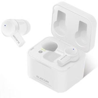 エレコム 完全ワイヤレス Bluetoothイヤホン(ホワイト) ELECOM LBT-TWS03WH 【返品種別A】