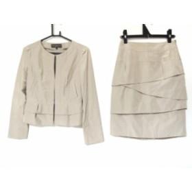 ボディドレッシングデラックス BODY DRESSING Deluxe スカートスーツ サイズ36 S レディース ベージュ【中古】20190905