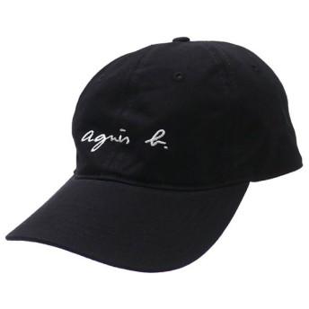 新品 アニエスベー オム agnes b. HOMME CASQUETTE LOGO CAP ロゴ キャップ BLACK ブラック メンズ 新作 265001200011 ヘッドウェア