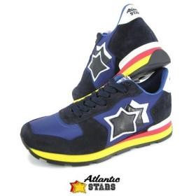 完売御礼/スペシャルプライス/アトランティックスターズ Atlantic STARS メンズ スニーカー ANTARES AAB 89B ブルー/ネイビー
