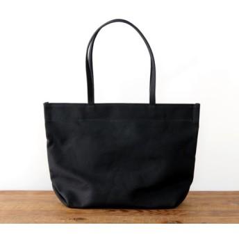 《Canvas》Simple tote Bag ブラック