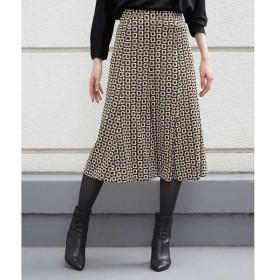 MICHEL KLEIN / ミッシェルクラン 【セットアップ対応/洗える】スクエアチェーンマーメイドスカート