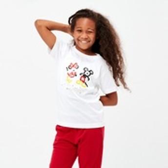 KIDS ミッキー アー トUT(グラフィックTシャツ・半袖)
