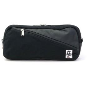 (GALLERIA/ギャレリア)【日本正規品】CHUMS ウエストバッグ チャムス Square Waist Bag Sweat Nylon CH60-2811/ユニセックス ブラック