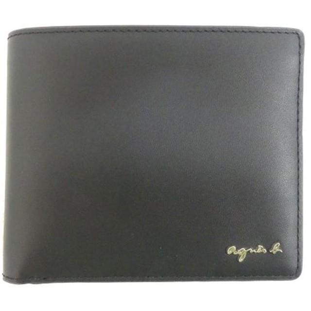 agnes b. VOYAGE N196-VC55 二つ折り財布 ブラック (茶屋町店) 190903