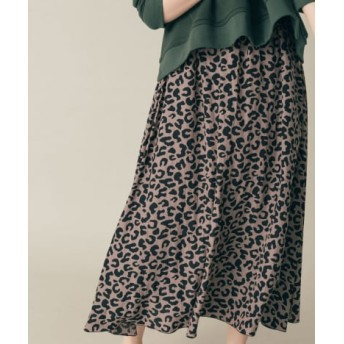 DOORS(ドアーズ) スカート スカート thint カッセンレオパードスカート【送料無料】