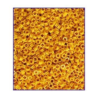 LEGO Technic NEW 100 pcs YELLOW BUSH Half Bushing 1//2 Cross Connector Part 4265c