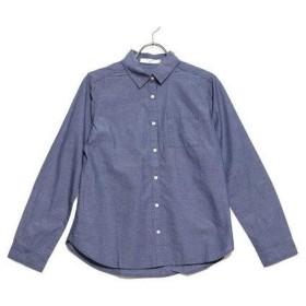 サマンサモスモス ブルー アウトレット Samansa Mos2 blue outlet ブロード レギュラーシャツ (ブルー)