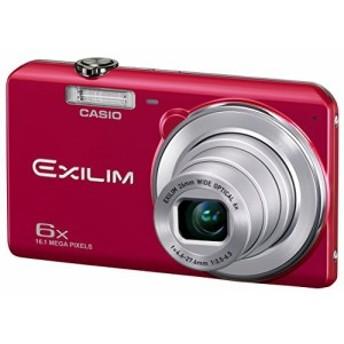 CASIO デジタルカメラ EXILIM 広角26mm 光学6倍ズーム EX-ZS29RD レッド(中古品)