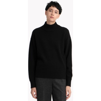 【Theory】Cashmere Whipstitch Tneck