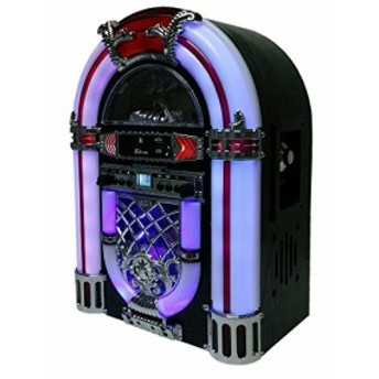 WINTECH ジュークボックス型MP3再生対応SD/USB/CDラジオ KBYL-05(中古品)