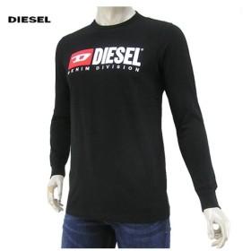 完売御礼/ディーゼル DIESEL メンズ 長袖Tシャツ T JUST LS DIVISION 00SLJY 0CATJ ブラック/900/クルーネック/長袖/19ss