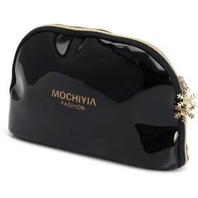 SimpleLife化粧バッグ、女性旅行化粧品バッグケースペン鉛筆バッグジッパーコインポーチ財布収納ギフト、21×5.5×14センチ