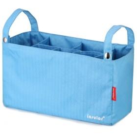 (キュート ウィンク) Cute Wink バッグインバッグ ベビーカー 収納バッグ つりさげくん 3Way スカイブルー