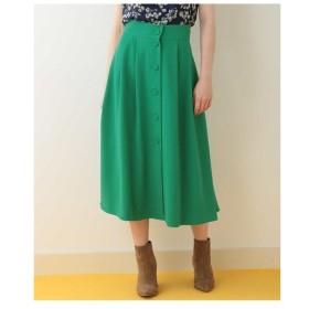 TARA JARMON / フロントボタンフレアスカート