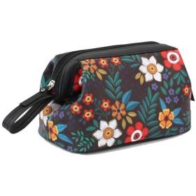 プリントポータブルウォッシュバッグ、大容量防水化粧品バッグ、旅行ポータブル多機能レディーススキンケア収納バッグ、レディースポータブルクラッチ