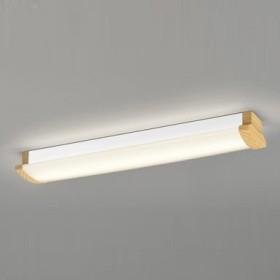 ODELIC LEDキッチンライト HF16W高出力×2灯クラス 電球色 消費電力21.3W 壁面・天井面・傾斜面取付兼用 100V~242V用 木調ナチュラル色 OL291030P4F