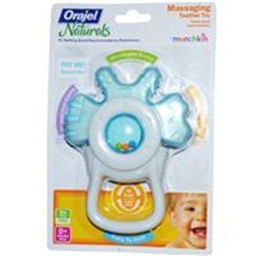 Munchkin Orajel Front Teeth Teething Toy Colors May Vary
