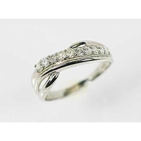【KASHIMA】シルバー925 0.3ct スィート10 ダイヤモンド リング
