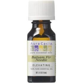海外直送品 Aura Cacia Pure Essential Oil Fir Needle Balsam, Fir Needle Balsam 0.5 oz