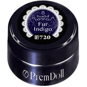 プリジェル ジェルネイル プリムドール ファーインディゴ 3g DOLL-720