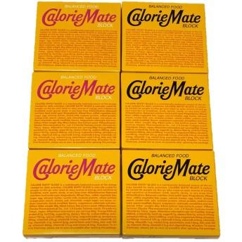 大塚製薬 カロリーメイト ブロック 4本×6箱 (メープル味3箱&チーズ味3箱)