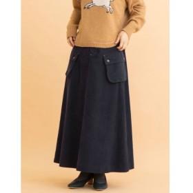 [マルイ]【セール】コーデュロイカーゴポケットフレアースカート/プードゥドゥ(POU DOU DOU)