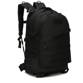meolin陸軍ファン登山バッグタクティカルバックパックアウトドアキャンプ旅行パッケージ . ブラック 70