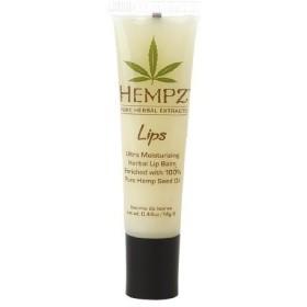 Hempz Lips Ultra Moisturizing Herbal Lip Balm 0.44 oz (14 g by AB