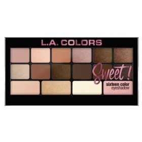 (3 Pack) L.A. Colors Sweet! 16 Color Eyeshadow Palette - Charming (並行輸入品)