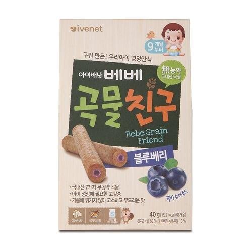 艾唯倪 IVENET 穀物棒棒40g-藍莓風味★愛兒麗婦幼用品★