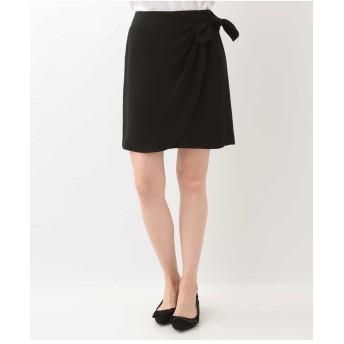TARA JARMON リボンデザインスカート IMPORTED その他 スカート,ブラック