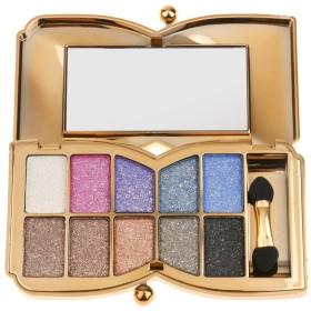 10色 メイクアップパレット お化粧 アイシャドウ カラーメイク プロ 化粧用ブラシ