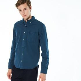 天竺素材ボタンダウンシャツ