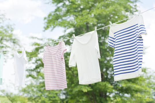 夏物の洗濯