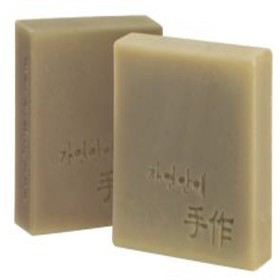 Natural organic 有機天然ソープ 固形 無添加 洗顔せっけんクレンジング 石鹸 [並行輸入品] (清州)
