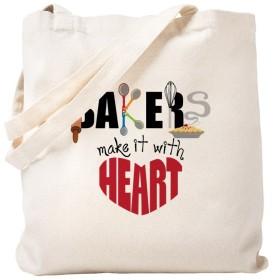 CafePress–Bakers–ナチュラルキャンバストートバッグ、布ショッピングバッグ S ベージュ 0727121415DECC2