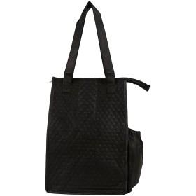 nufazes 9 x 14不織布リサイクルショッピング食料品バッグwith熱断熱材(トート) S ST3091-Black