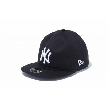 NEW ERA ニューエラ キッズ RC 9FIFTY ニューヨーク・ヤンキース ブラック × スノーホワイト スナップバックキャップ アジャスタブル サイズ調整可能 ベースボールキャップ キャップ 帽子 男の子 女の子 52 - 55.8cm 12108291 NEWERA