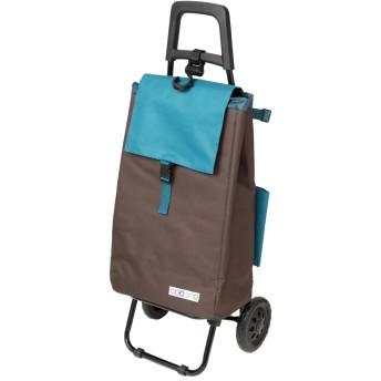 レップ(REP) ショッピングカート ブラウン 容量40L 保冷 買い物 バッグ らくらく COCORO(コ・コロ) 424049